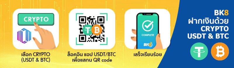 ฝาก-ถอนกับ BK8 Thai ปลอดภัยทุกขั้นตอน